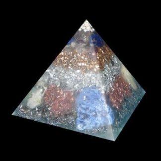 Medium Orgonite Pyramid Zen Dome