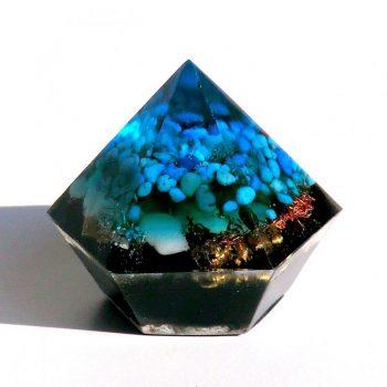 Turquenite Mini Diamond Orgonite